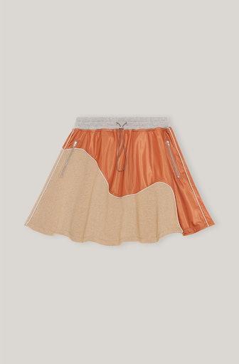 Isoli Tech Fabric Mini Skirt