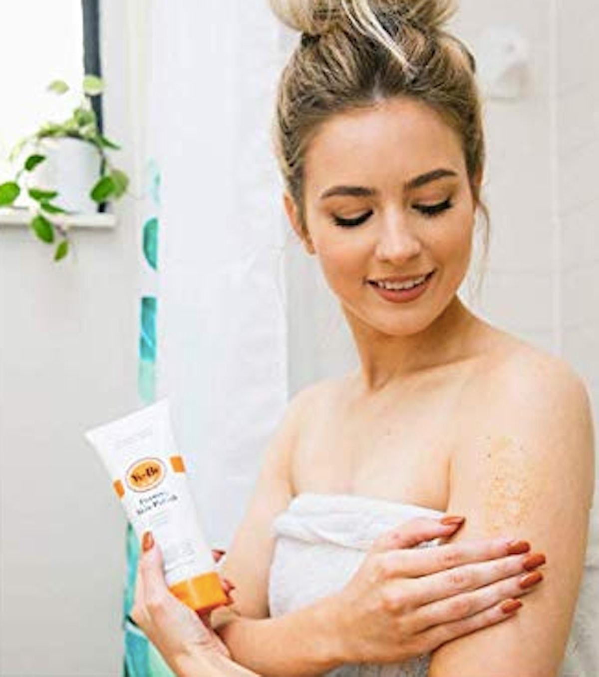 Yu-Be Foaming Exfoliating Face & Body Scrub