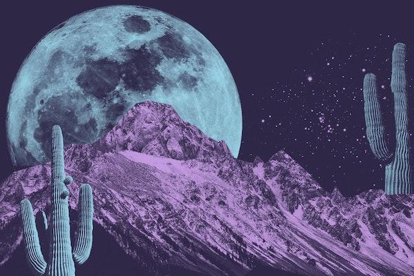 April 2021 Full Super Pink Moon