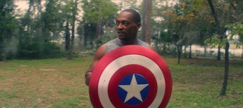 Anthony Mackie as Sam Wilson, aka Captain America in 'Falcon and the Winter Soldier'