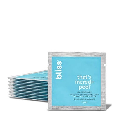 Bliss - That's Incredi-peel Glycolic Resurfacing Pads (15-Pack)