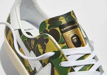 "BAPE x Adidas ""Green Camo"" Superstar"