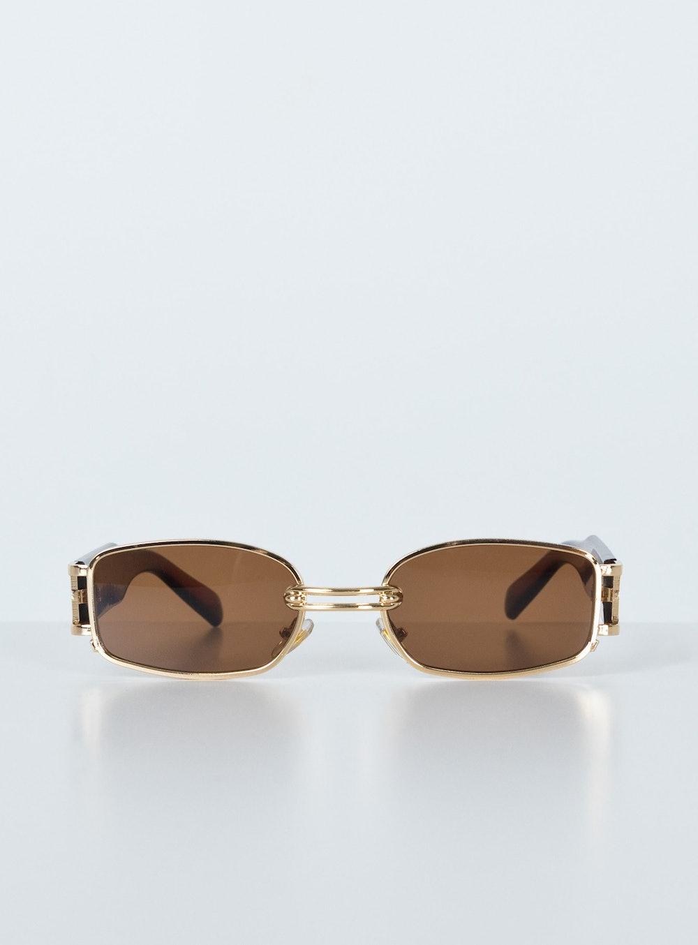 Yasmine Sunglasses in Brown