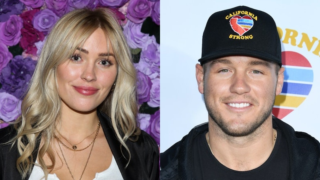 Cassie Randolph addressed Colton Underwood's coming out.
