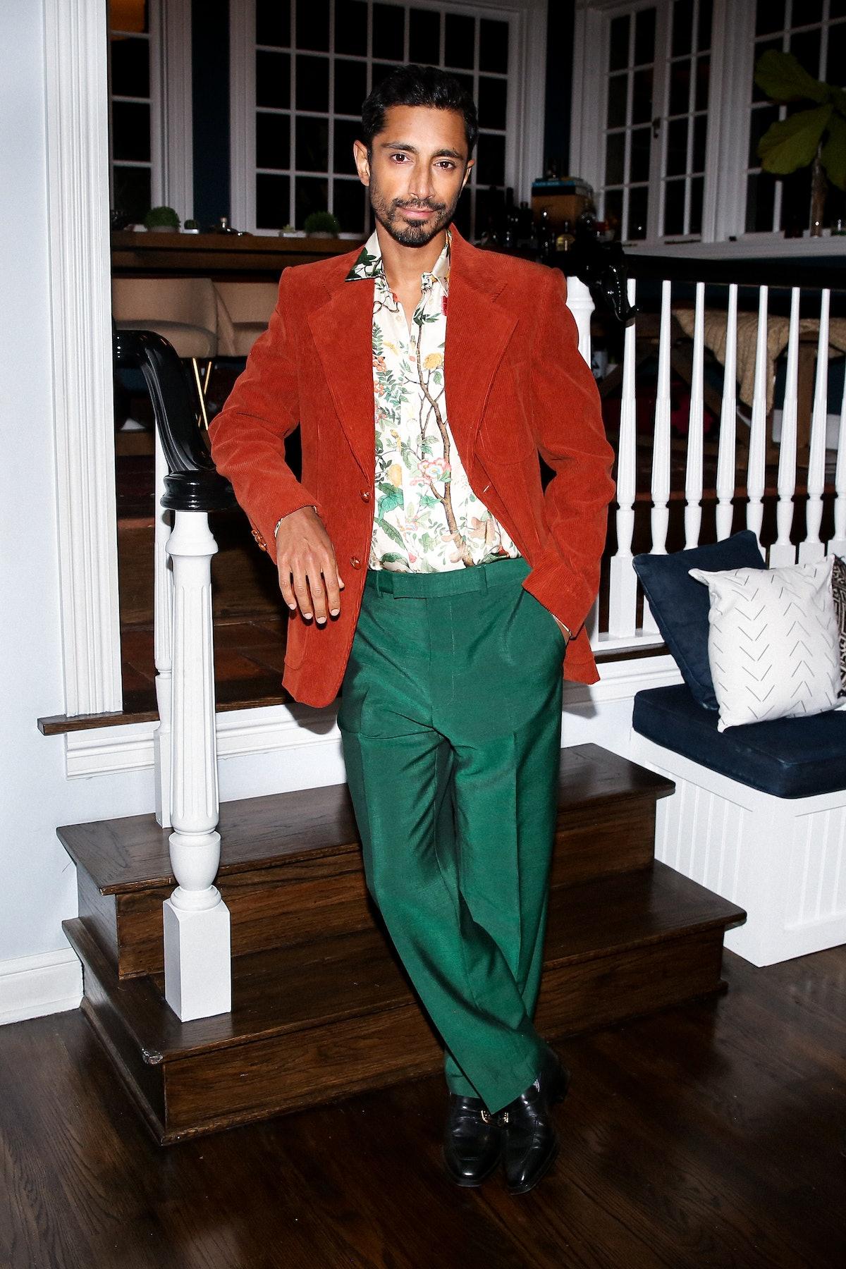 Riz Ahmed in Gucci