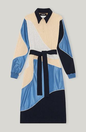 Isoli Tech Fabric Midi Dress