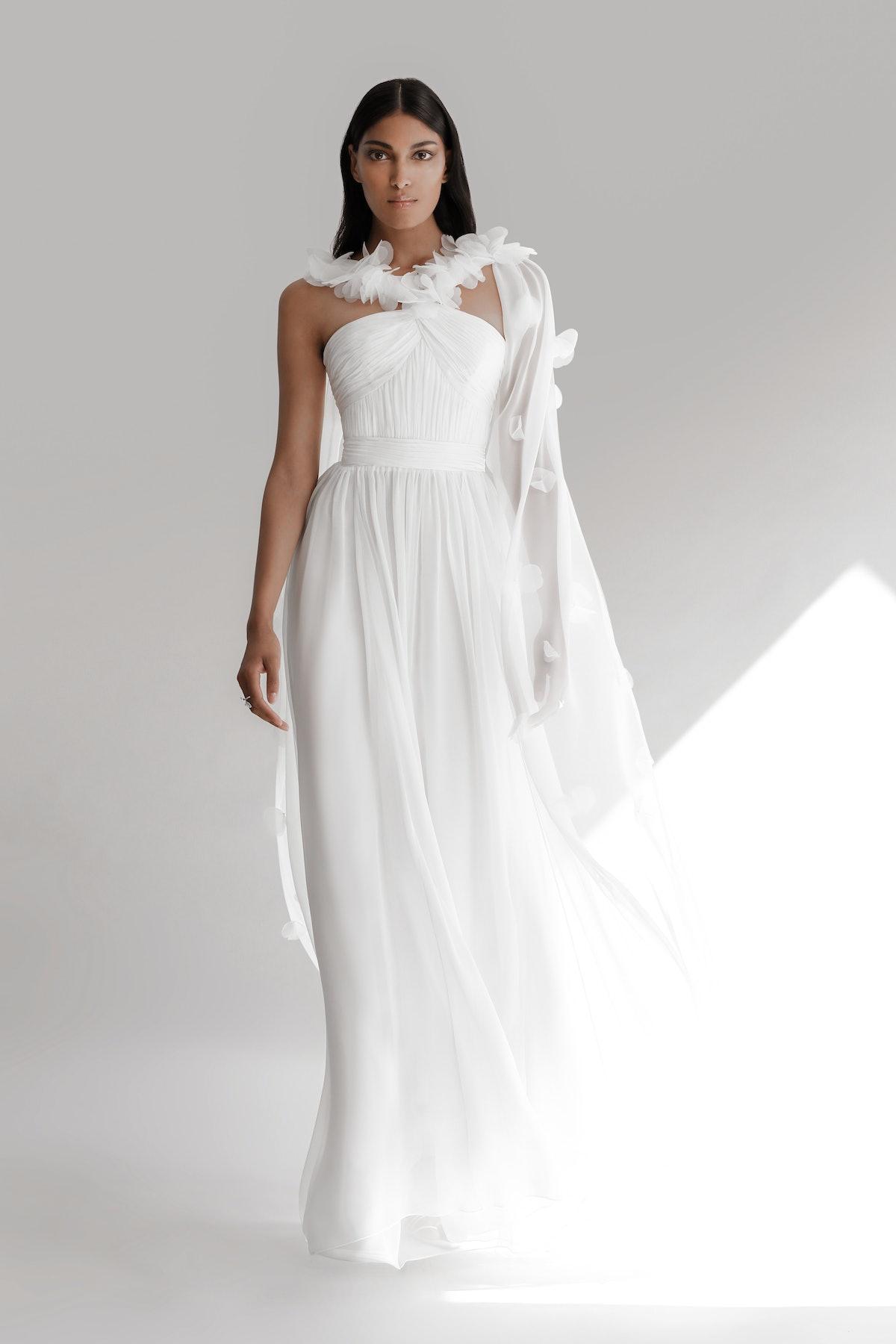 Model wears Prabal Gurung 2022 Bridal Collection