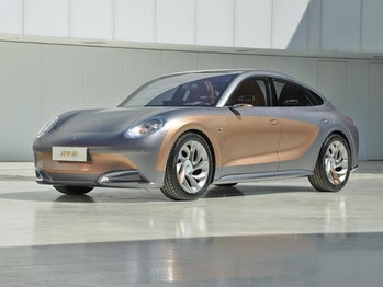 Chinese automaker Ora unveiled several cars during the Shanghai Auto Show that look like cars from other brands.