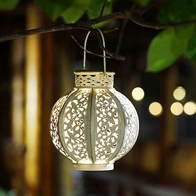Maggift Hanging Solar Lights (2-Pack)