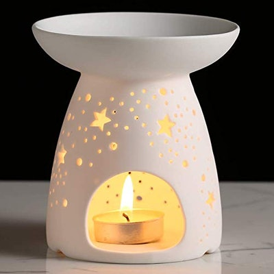 Ceramic Tealight Holder & Essential Oil Burner