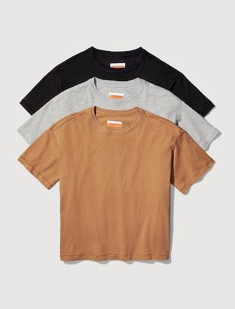 Organic Cotton 3-Pack Lightweight T-Shirt