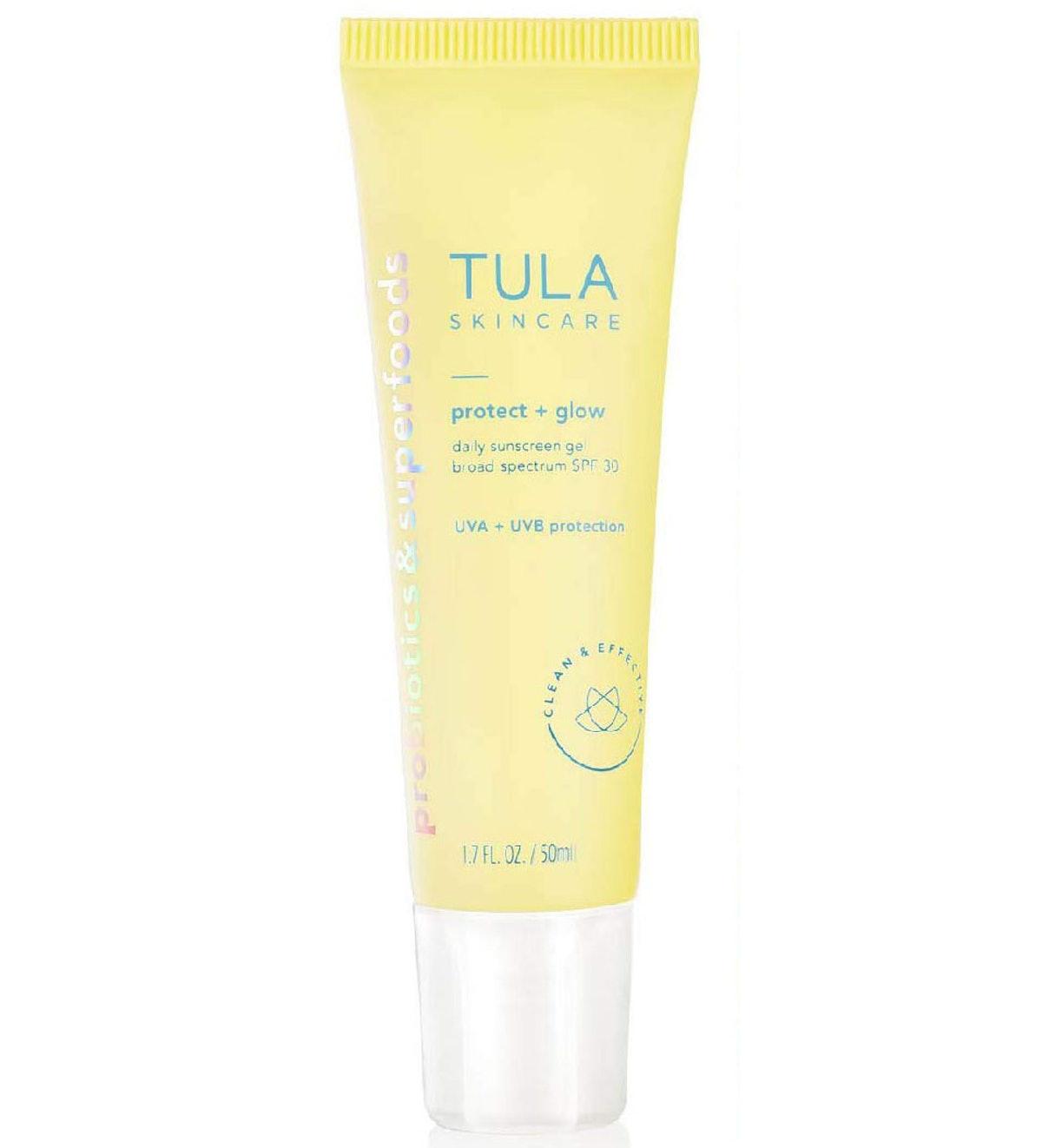 TULA Skin Care Protect + Glow Daily Sunscreen