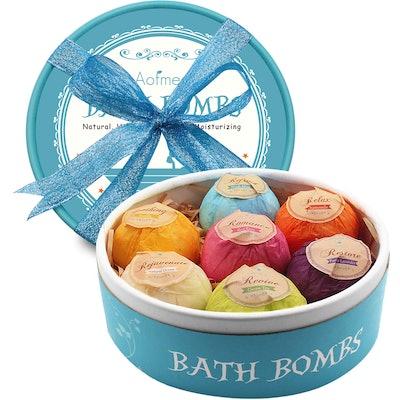 Aofmee Bath Bombs Gift Set (7-Pack)