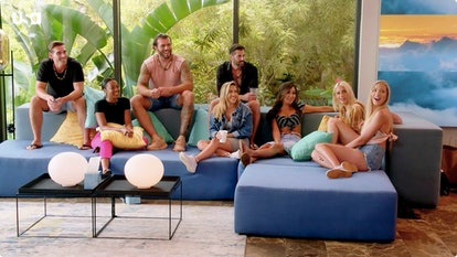 'Temptation Island' Season 3 cast members: Corey Sobczyk, Tula Poindexter, Julian Allen, Thomas Gipson, Sophia Perez, Maya Ismaiel, Alexcys Homan, Amanda Spain-Butts via USA's press site