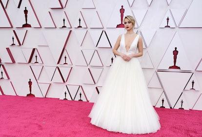 Maria Bakalova at the 2021 Oscars