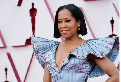 LOS ANGELES, CALIFORNIA – APRIL 25: Regina King attends the 93rd Annual Academy Awards at Union Station on April 25, 2021 in Los Angeles, California.