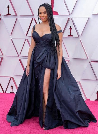 Nicolette Robinson at the Oscars