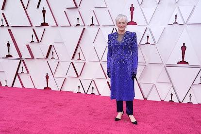 Glenn Close at the 2021 Oscars