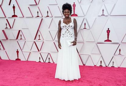 Viola Davis at the 2021 Oscars