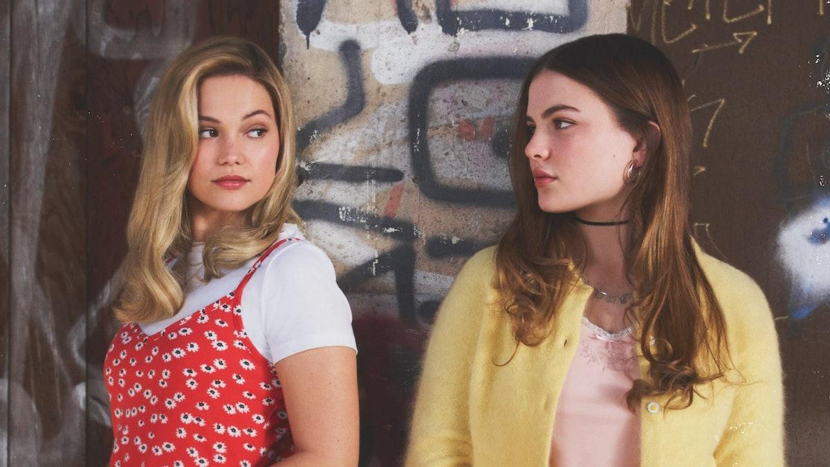 Chiara Aurelia as Jeanette and Olivia Holt as Kate in Cruel Summer.