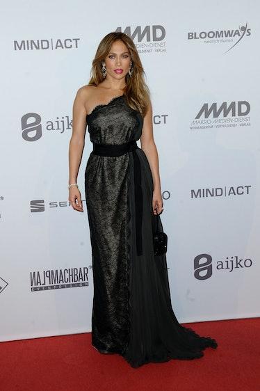Jennifer Lopez in Lanvin.