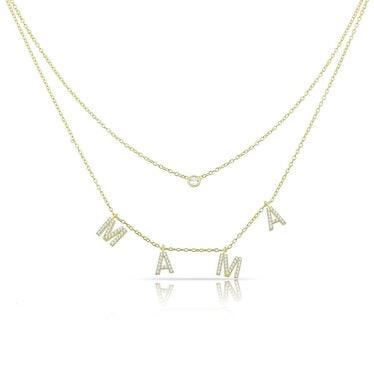 Loverly Layered Mama Necklace