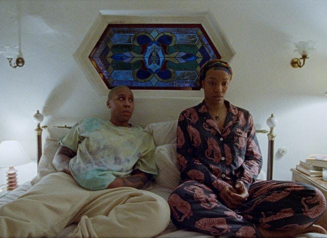 Lena Waithe and Naomie Ackie in season three of Aziz Ansari's 'Master of None' on Netflix.