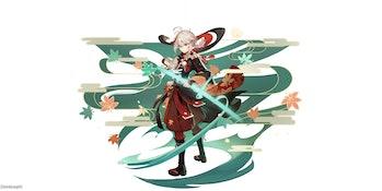 Kazuha Genshin Impact Version 1.6