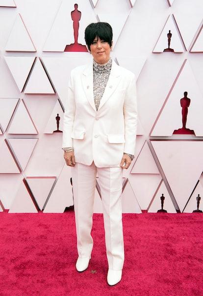 Diane Warren at the 2021 Oscars