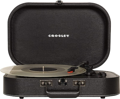 Crosley CR8009A-BK Discovery Vintage Turntable