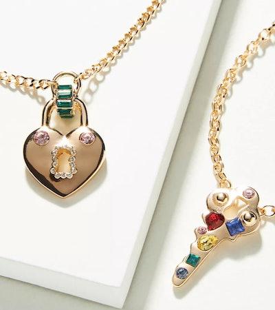 Super Smalls Lock and Key Necklace Set
