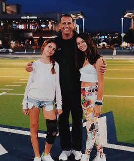 Alex Rodriguez is the dad to two daughters — 16-year-old Natasha and 13-year-old Ella.