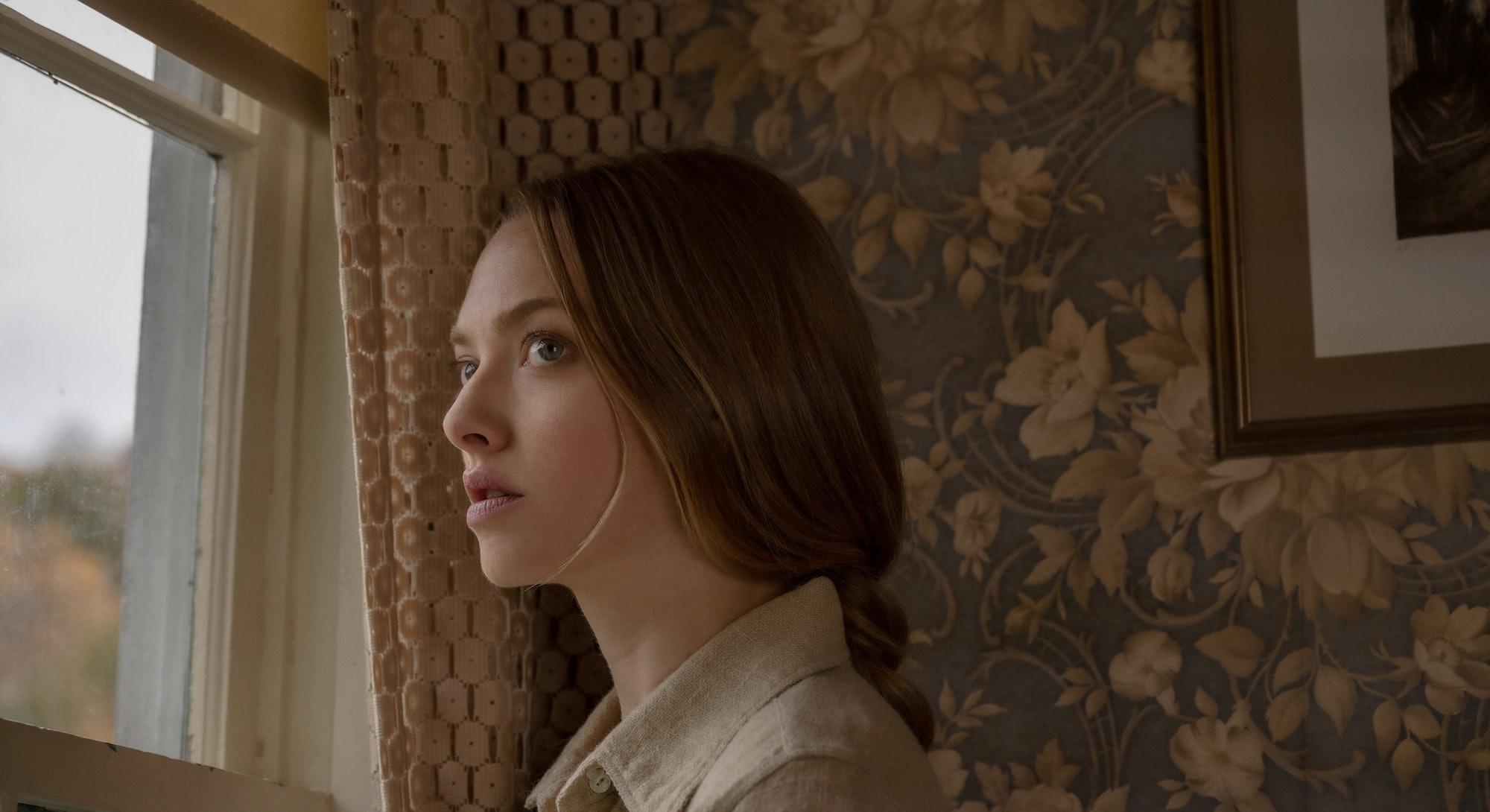 Amanda Seyfried in 'Things Heard & Seen,' via the Netflix press site.