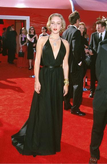 Chloe Sevigny in her Oscars gown.
