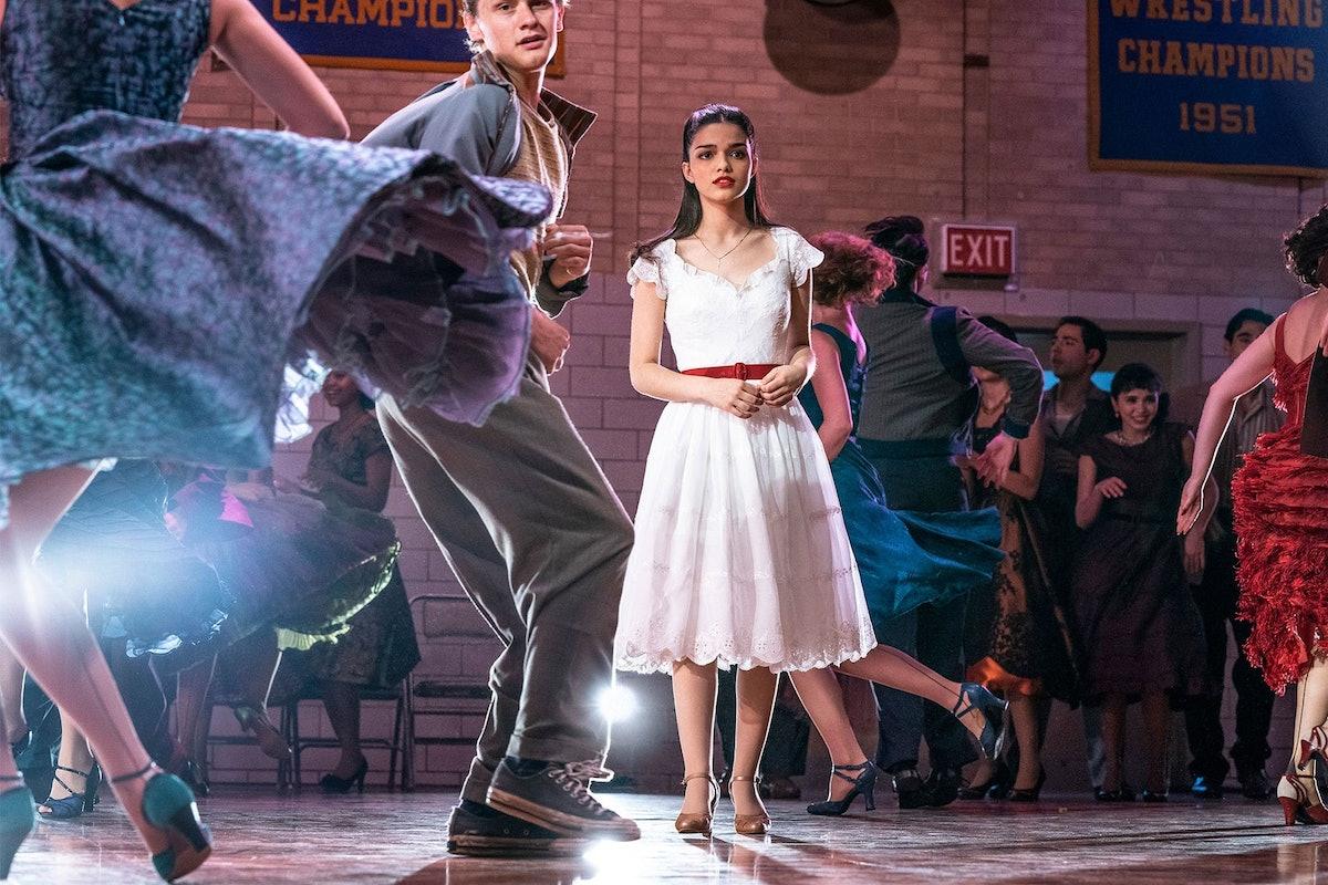 Rachel Zegler as Maria in West Side Story.