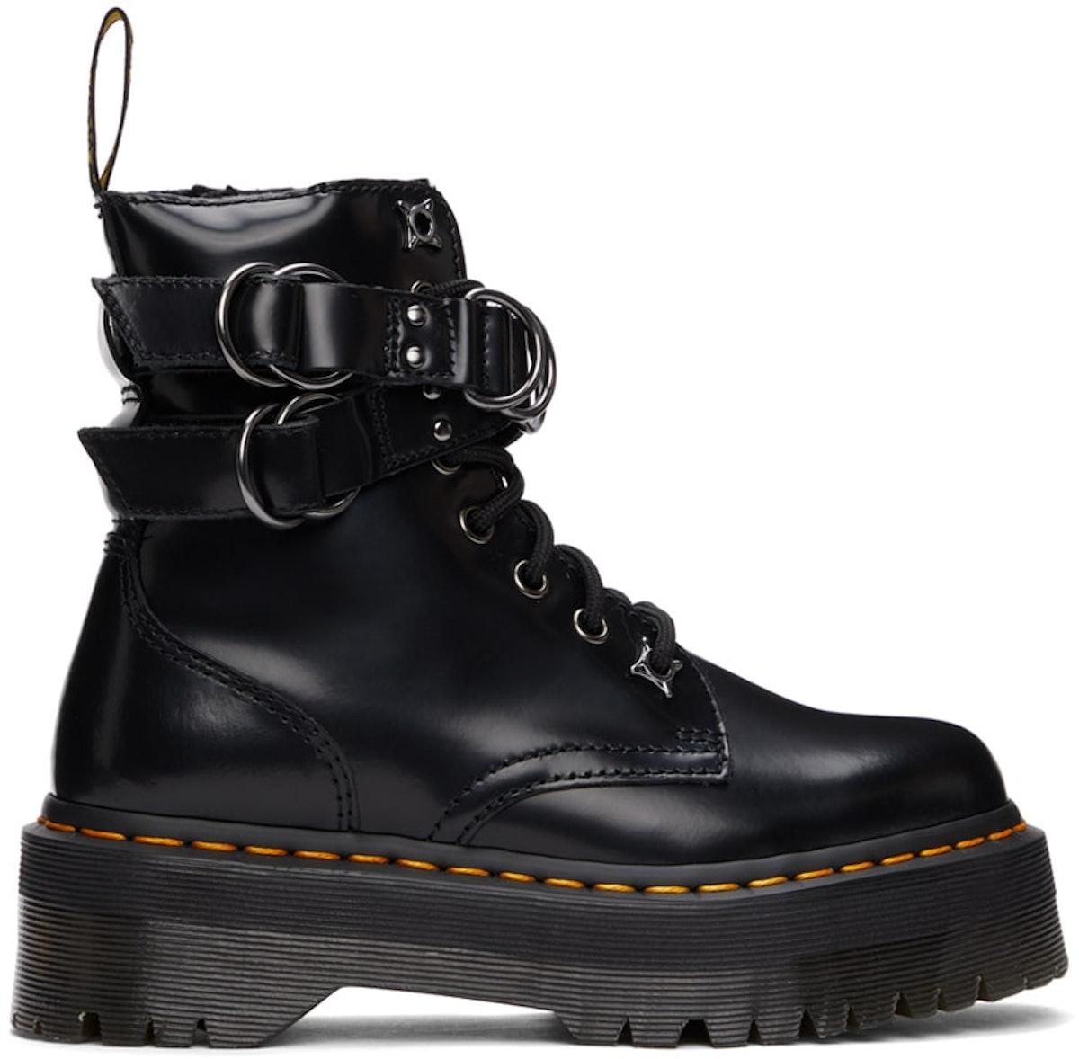 Black Jadon Hardware Platform Boots
