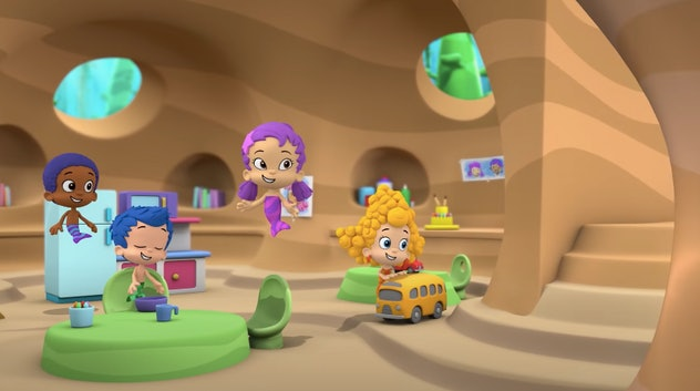 The Bubble Guppies in class