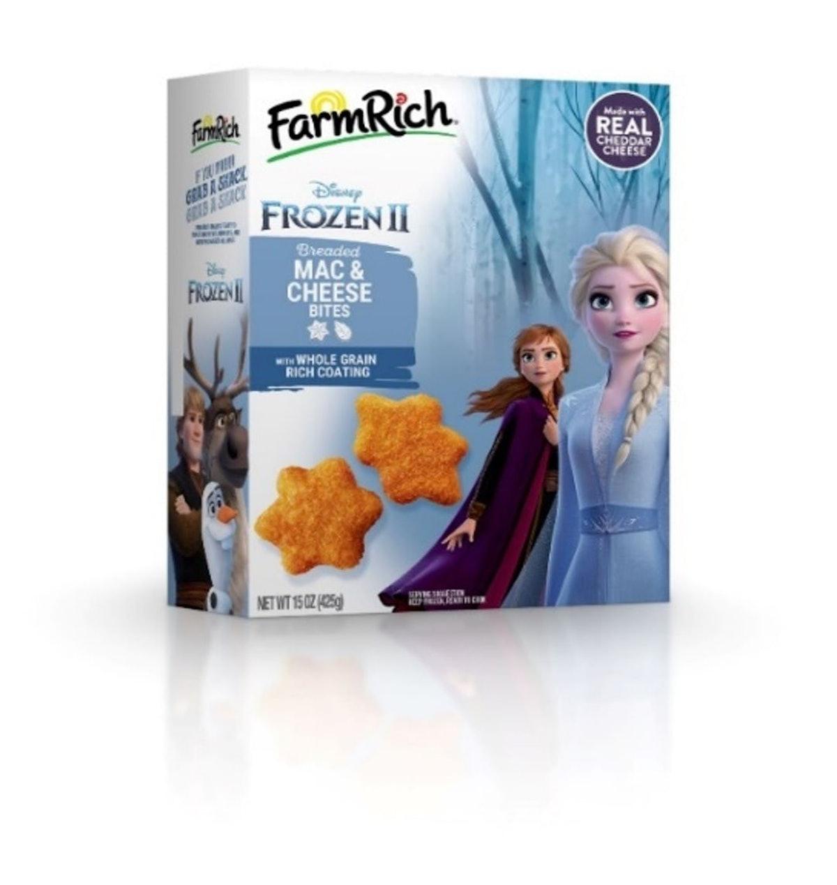 Farm Rich's Baby Yoda-shaped 'Mandalorian' Cheesy Potato Tots will join a 'Frozen 2'-inspired treat.