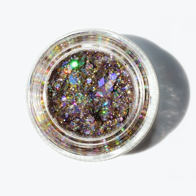 Spacejam Ultra Luxe Glitter Balm in Crystal Tokyo