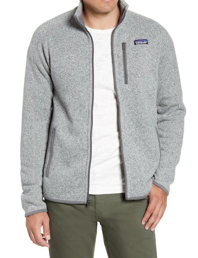 Patagonia Better Sweater Zip Jacket in Stonewash