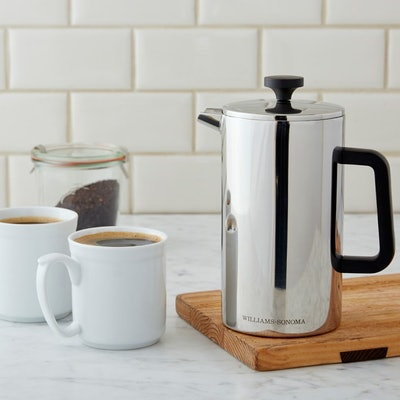 Williams Sonoma Stainless-Steel French Press