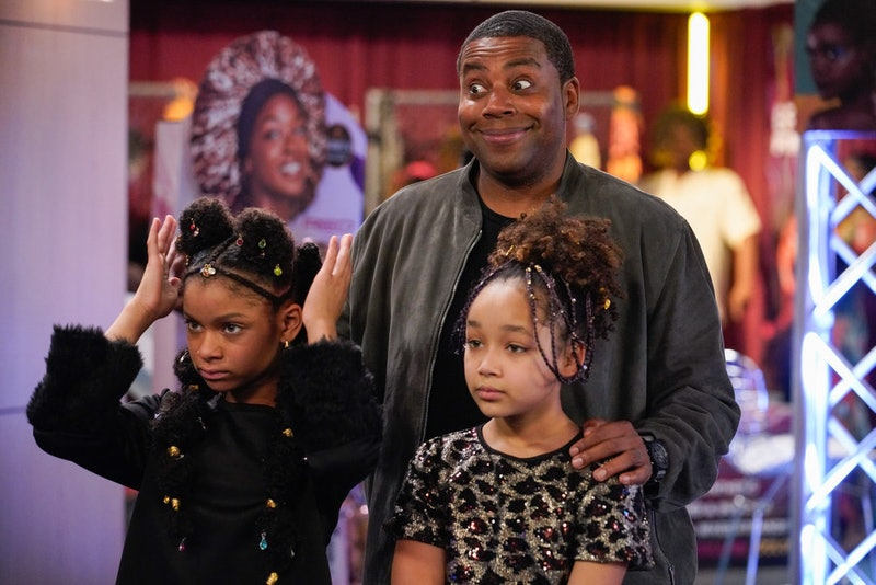 Kenan and his daughters on Kenan via the NBC press site