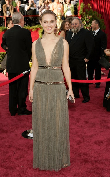 Natalie Portman in a Lanving Oscars gown.