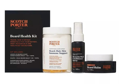 Scotch Porter Immunity Boost Beard Health Kit