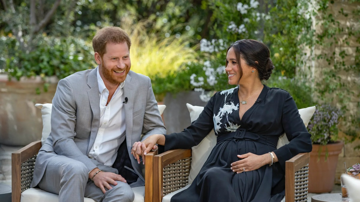 Prince Harry and Meghan Markle sit down for an interview with Oprah.