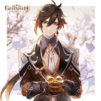 Genshin Impact Zhongli Version 1.5 White Day