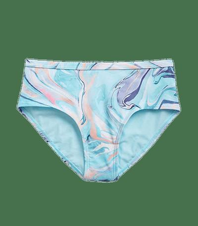 Ocean Marble Bikini Bottom