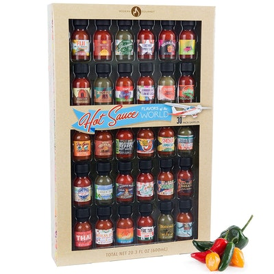 Flavors of the World Hot Sauce Sampler Gift Set