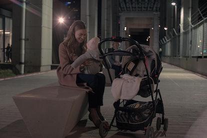 Yvonne Strahovski as Serena Waterford in The Handmaid's Tale via Hulu Press Site