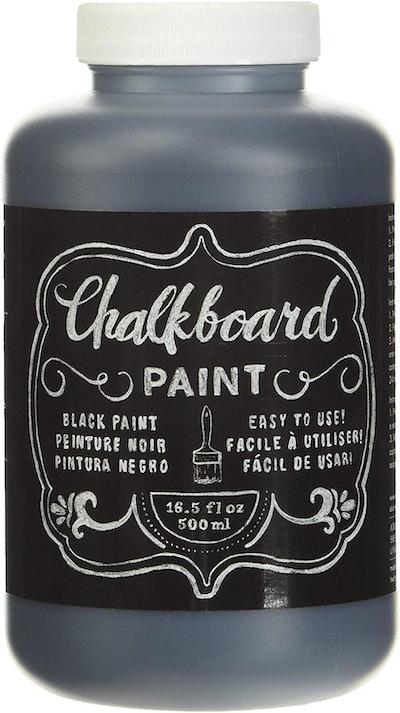 American Crafts DIY Shop Chalkboard Paint, 16.5 Oz.